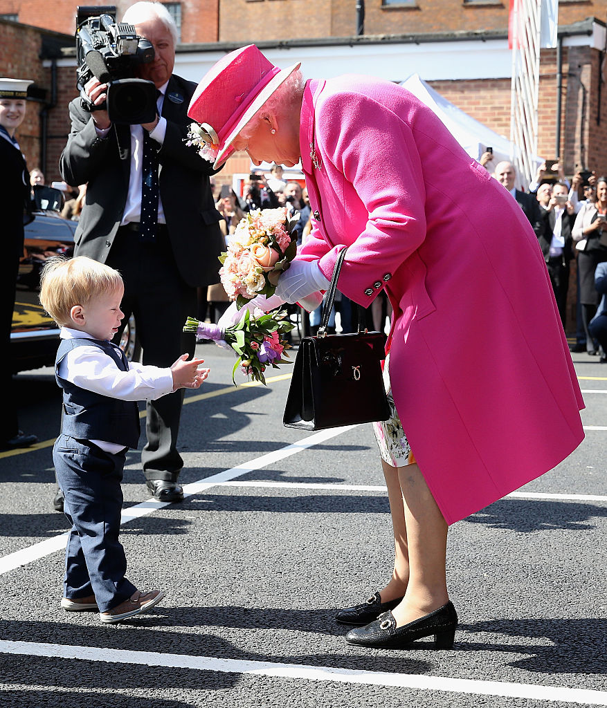 <> at on April 20, 2016 in Windsor, England.