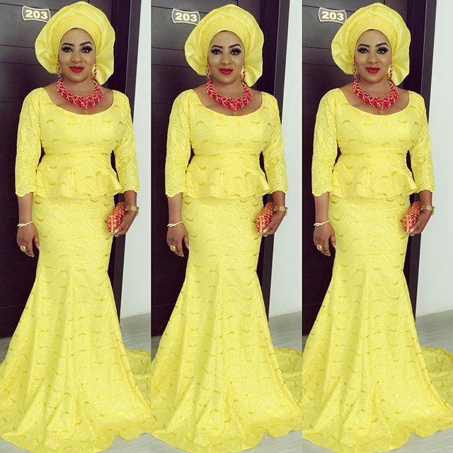 Myde Martinsat Faithia Williams Balogun's Brother's Wedding in Oyo State.jpg