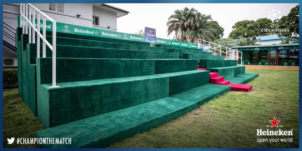 Viewing Area - Astroturf Mini Football Pitch