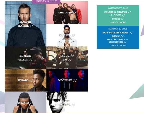 Artist-Lineup-600x469 Wizkid Announced as a Headline Act for London's 2016 Wireless Festival