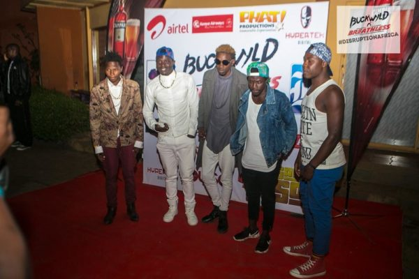 Buckwyld and Breathless The Distruption Africa Tour Concert Nairobi Kenya BellaNaija (7)