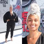Alicia Keys Ditched Makeup For The 2016 BET Awards