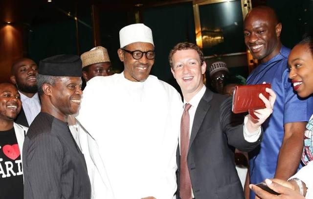Résultats de recherche d'images pour «Mark Zuckerberg, met with President Muhammadu Buhari»
