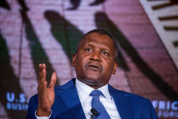 Image result for Dangote named among 50 most influential people globally