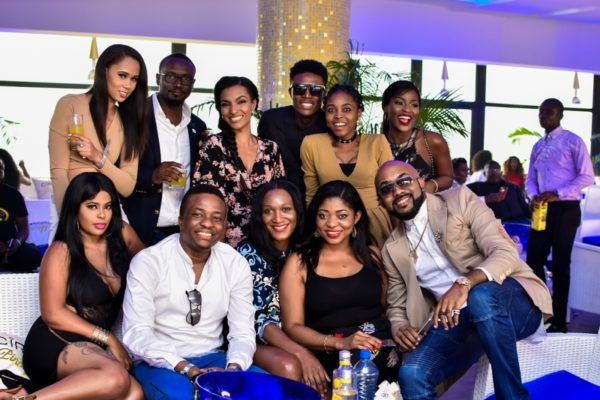 Cîroc Unveils Toke Makinwa, Tekno as Brand Ambassadors & Renews with Banky W for their 'On Arrival' Campaign (Exclusive Pix) - Brand Spur