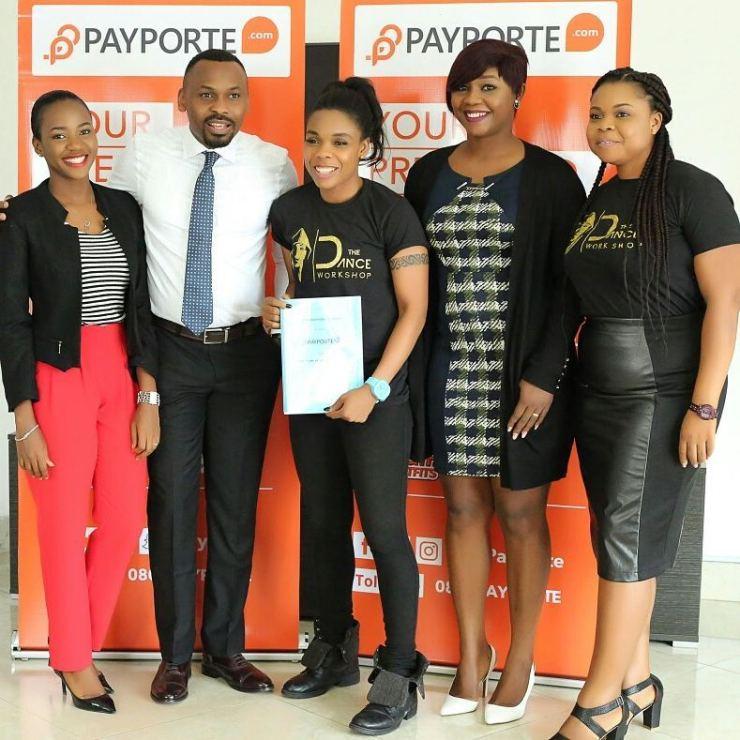 BellaNaija - Kaffy signed on as Payporte Health & Fitness Ambassador