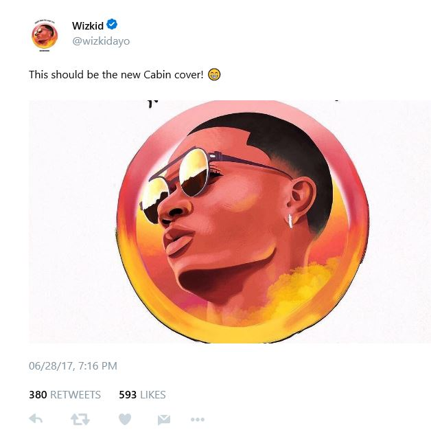 """BellaNaija - Wizkid unveils Official Artwork for """"Sounds From The Other Side"""""""