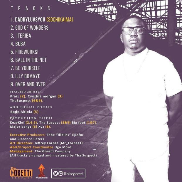 "BellaNaija - iLLBliss returns with 5th Studio Album ""Illy Bomaye"""