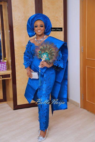 BN Exclusive Oyin Adenugas Stunning Looks As She Weds