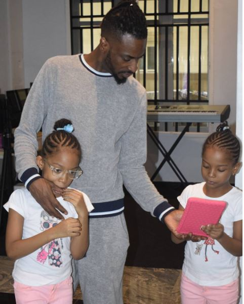 9ice - 9ice Posts Adorable Photo of His Twin Daughters on Instagram