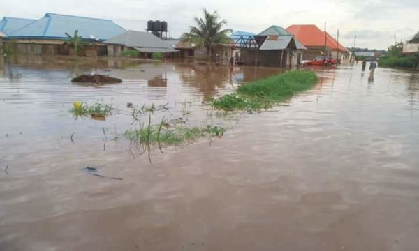 Benue Governor Ortom begs FG for help as Flood submerges State - BellaNaija