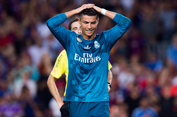 Ronaldo suspended for 5 matches for pushing referee in Real Madrid win