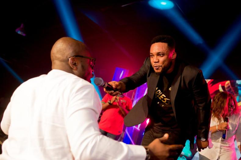 Coral Confetti - Tim Godfrey , onos-ariyo-album launch