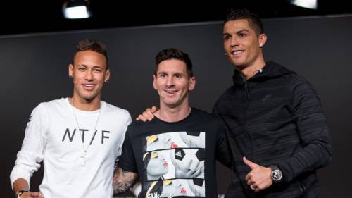 Who will be Crowned #TheBest?👑 Ronaldo, Messi, Neymar named finalists for FIFA Men's Award