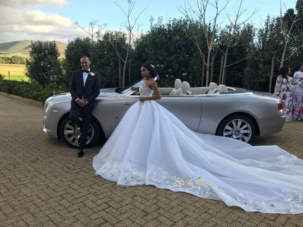 First Look At Minnie Dlamini Amp Quinton Jones Fairytale Wedding Emmanuels Blog