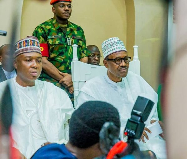 Image result for Buhari presence at wedding in Kano