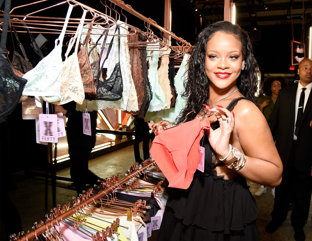 Rihanna Launches Savagefenty Her Lingerie line