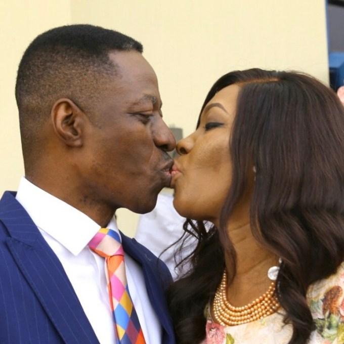Pastor Sam Adeyemi & Wife Nike Celebrate 25th Wedding Anniversary❤️