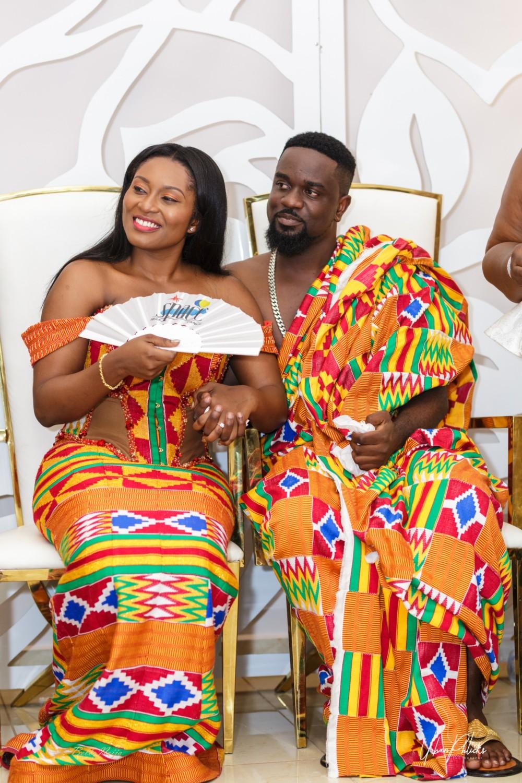 Official Photos Of Ghanaian Rapper Sakordie Amp Tracys Wedding