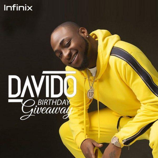 Infinix X Davido Giveaway