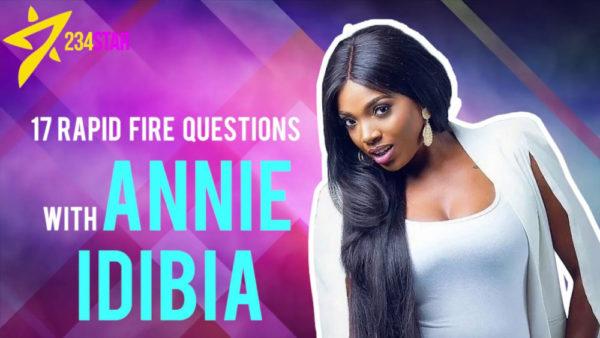 Annie Idibia talks Feminism, First Crush & 2Baba on 17 Rapid Fire Questions | WATCH | BellaNaija
