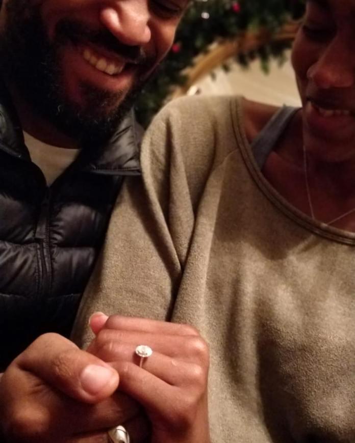 Moe Sasegbon And Her fiance
