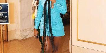 Noticed: Tiwa Savage keeping things Simple & Classy at New York Fashion Week   #NYFW