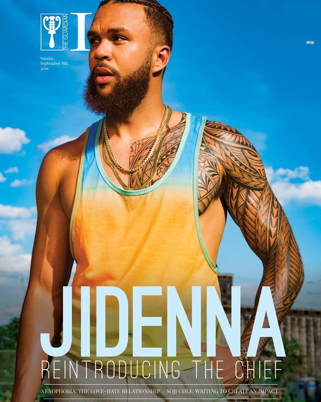 Reintroducing The Chief! Jidenna Covers Guardian Life Magazine's Latest Issue