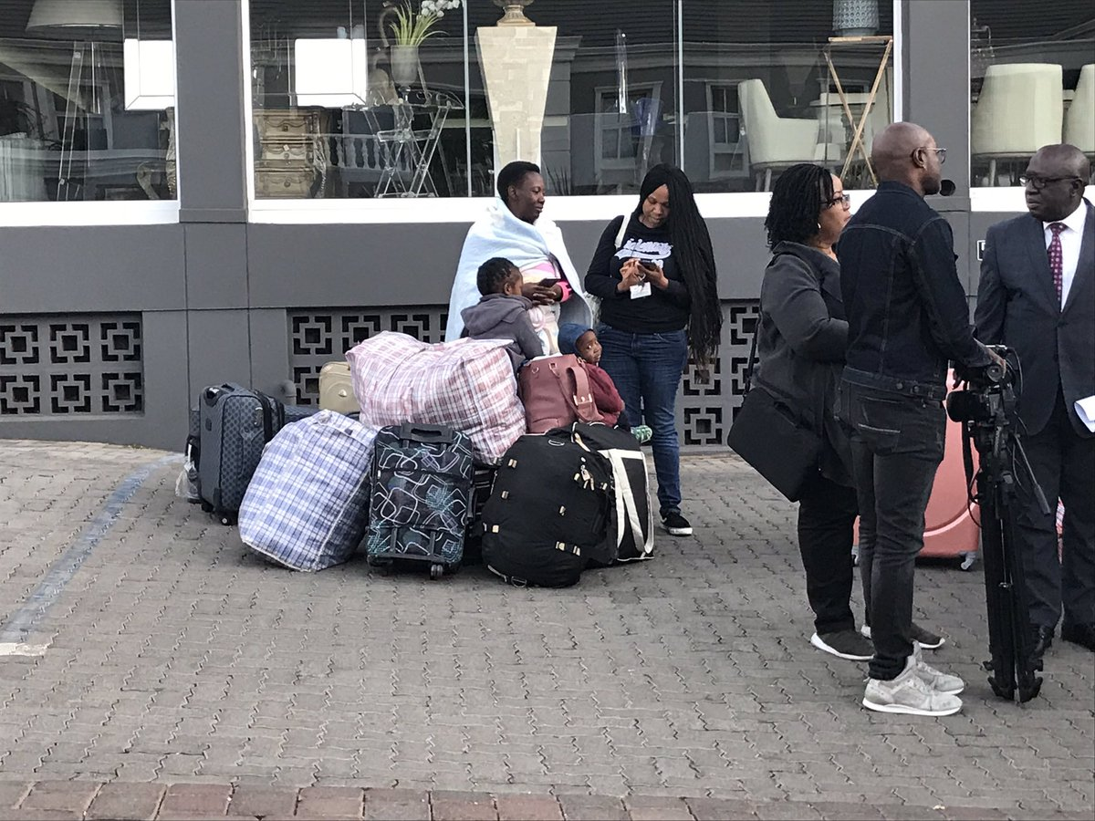 Over 600 Nigerians flee South Africa following Xenophobic Attacks
