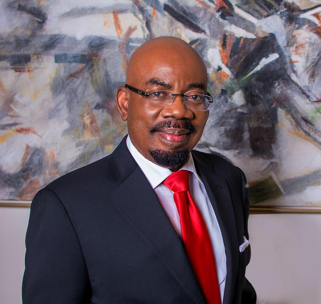 Zenith Bank's Chairman, Jim Ovia exits the World Economic Forum Africa 2019
