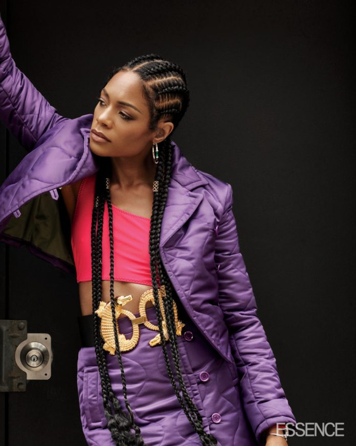Naomie Harris is Serving Major Looks Courtesy of Ade Samuel on Essence Magazine's Latest Cover