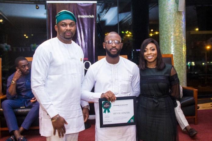 Jermaine Sanwo- Olu, Hon. Ibrahim Obanikoro & Seyi Tinubu attend the Nigerian Day Excellence Awards by The Sapio Club