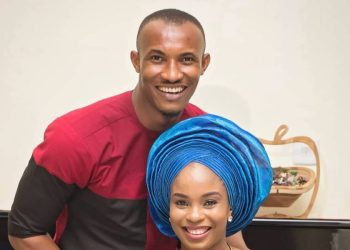 Gideon Okeke and his Family are too Adorable