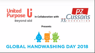 Right here's how United Function celebrated the 'Clean Hands for All' Marketing campaign on International Handwashing Day
