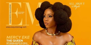 Queen of Highlights Mercy Eke is on a Mission to Conquer on the Cover of Exquisite Magazine's Latest Issue