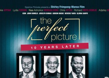 Official Poster for The Perfect Picture – 10 Years Later starring Richard Mofe Damijo, Joselyn Dumas, Beverly Naya & Chris Attoh