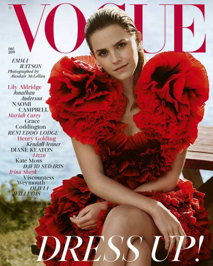 Emma Watson talks Turning 30 & Being Single as she Covers British Vogue December Issue