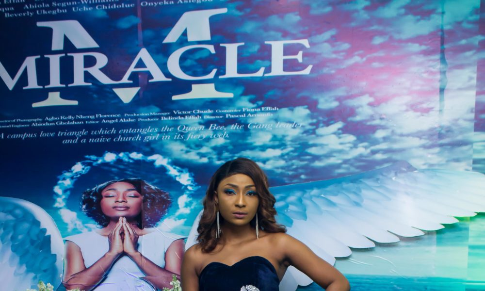 "Belinda Effah made a Style Statement at the Lagos Premiere of her Movie ""Miracle"""