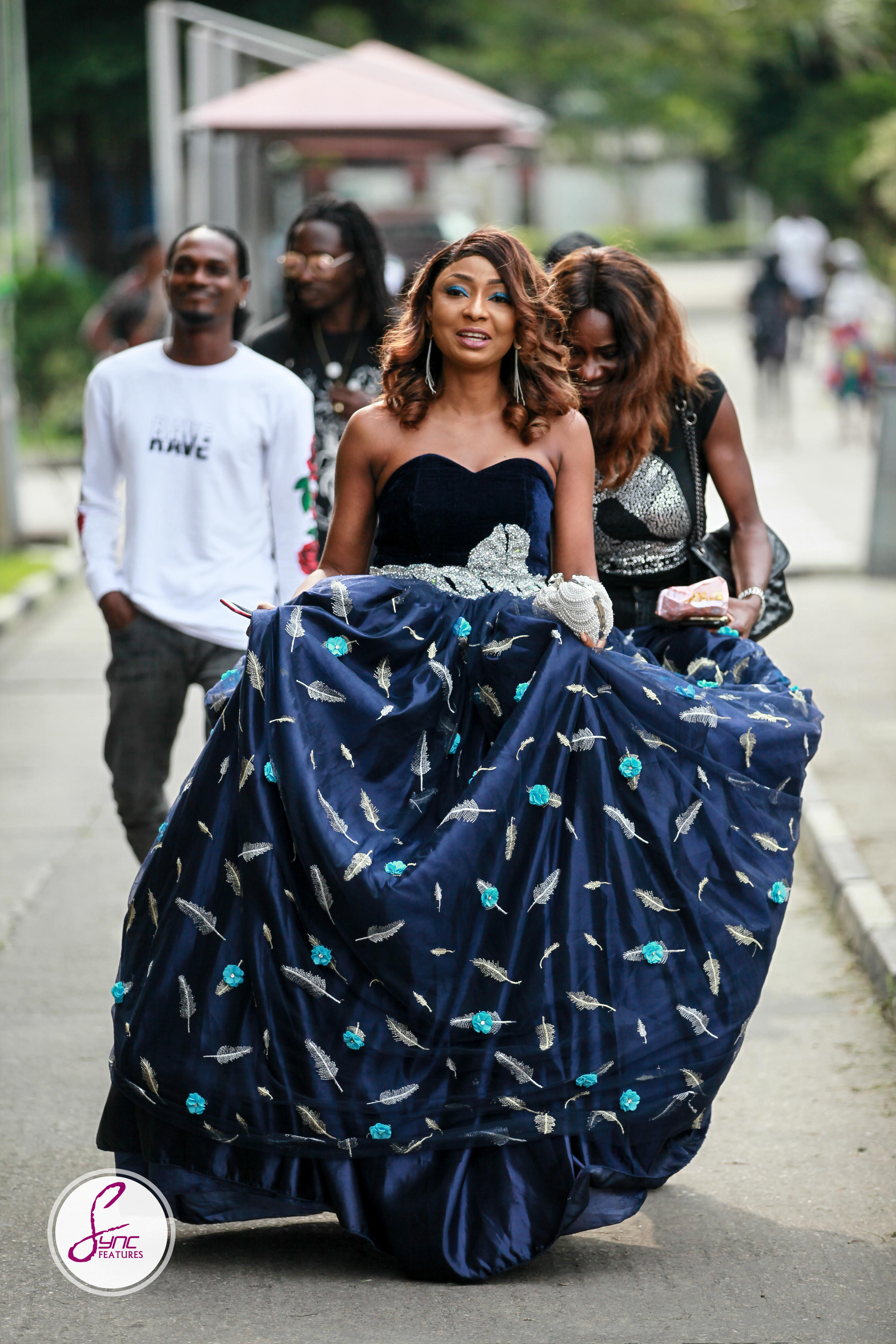 """Belinda Effah made a Style Statement at the Lagos Premiere of her Movie """"Miracle"""""""