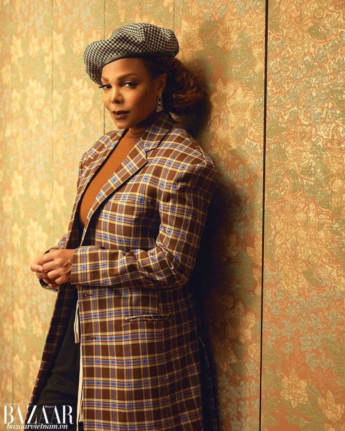 Janet Jackson is the Music Icon on the Latest Cover of Harper's Bazaar Vietnam!
