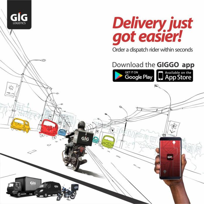 Enjoy Faster & Reliable Delivery Services with GIG Logistics' Newly launched App 'GIGGO'