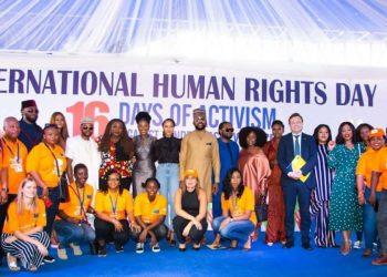 Here's how Banky W, Adesua Etomi-Wellington & Busola Dakolo commemorated International Human Rights Day