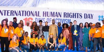 Here's how Banky W, Adesua Etomi-Wellington & Busola Dakolo commemorated International Human Rights Day
