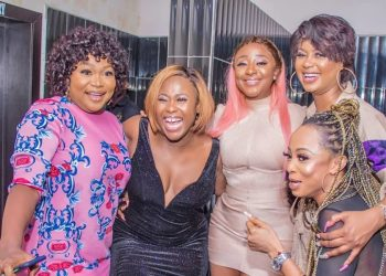 Nollywood Stars Turn Up for Uche Jombo's 40th Birthday Bash & We Have All the Scoop