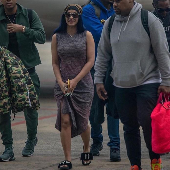 Cardi B is in Lagos!
