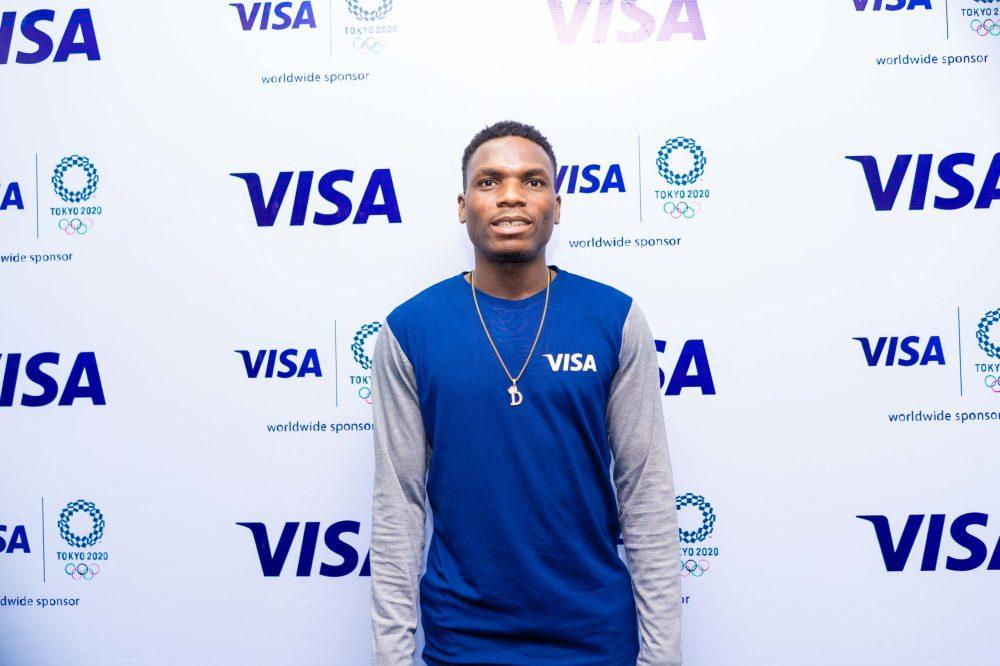 Team Visa Welcomes Nigerian Track & Field Sprinter Divine Oduduru to their  Tokyo 2020 Cohort | BellaNaija