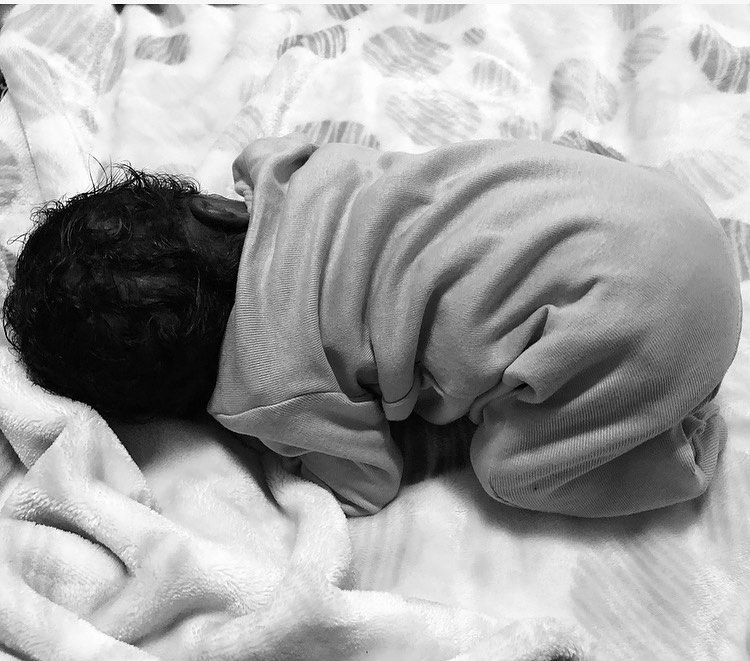 """Our precious and perfect gift from God"" Aramide Gushes Over her Newborn Baby Girl"