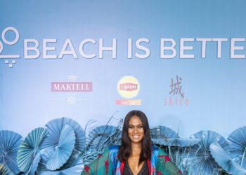 Davido, Genevieve Nnaji, Banky & Adesua Wellington, Bridget Awosika, Sharon Ooja and More at the 'Beach Is Better' Lagos Flagship Party | Check Out the Video & Photos