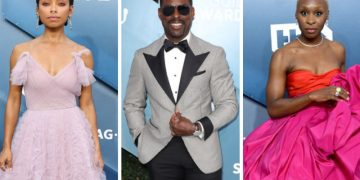 10 Looks From The 2020 SAG Awards We'll Be Talking About All Week