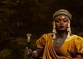 Bisola Channels her Inner Queen Amina for her 34th Birthday